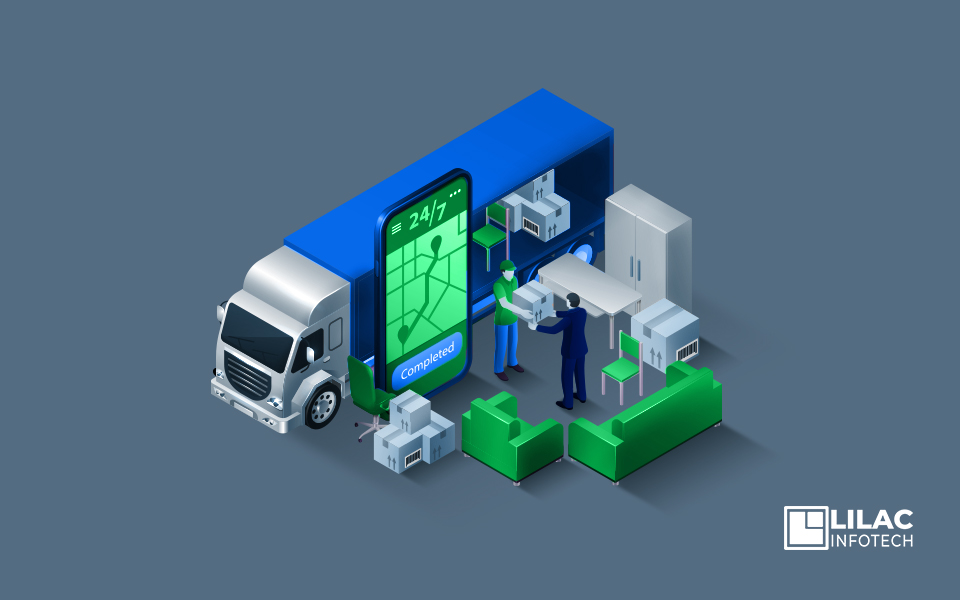 Mobile app development in Logistics business