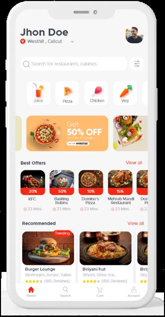 Lilac Foodmine App
