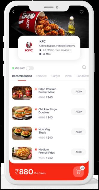 Lilac Foodmine Customer App