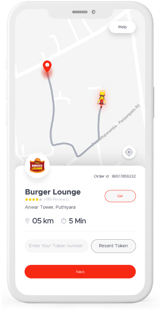 Lilac Foodmine Delivery App